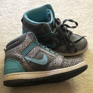 Nike Air Force 2 high tops size 8